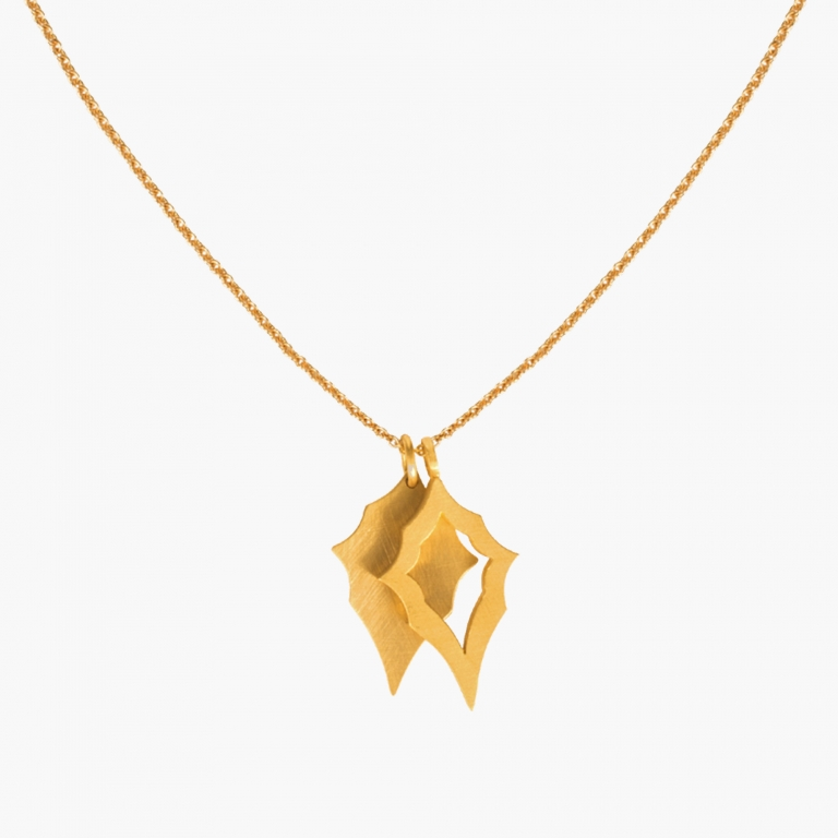 Akanthus – 24kt pures Gold